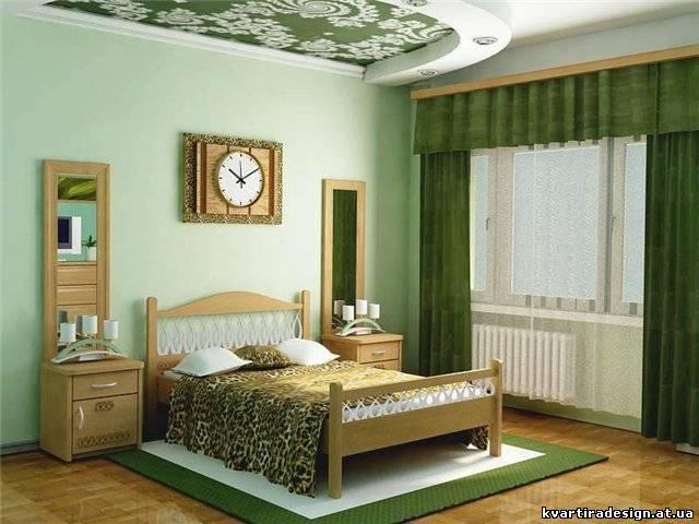 Фото интерьер спальни. спальня в сиреневых тон.