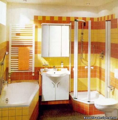 ремонт ванной совмещенной с туалетом.