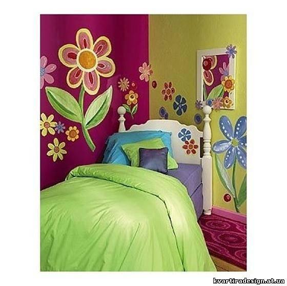 Цветы для детской комнаты фото